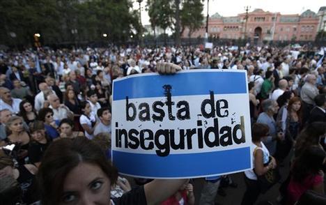 ARGENTINA-INSEGURIDAD
